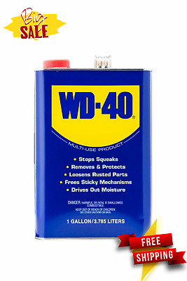 $ CDN32.72 • Buy WD-40 Multi-Use Lubricant Product Heavy Duty 1 Gallon Pack 1 High Performance