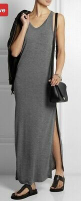 AU35 • Buy T By Alexander Wang Grey Long Tank Dress Size XS Excellent Condition