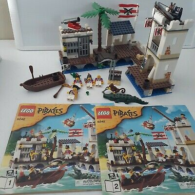 £63.71 • Buy Lego 6242 Pirates Soldiers Fort 98% Complete