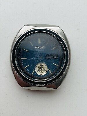 $ CDN123.26 • Buy Seiko 6139-8020 Case With Caseback Crystal And Dial No Mevement Pushers Crown