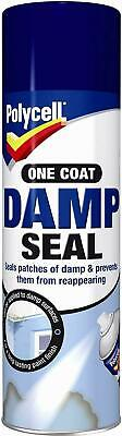 £11.99 • Buy Polycell Damp Seal Anti Mould Aerosol 500ml Spray Can One Coat New