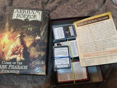 £34.50 • Buy  Arkham Horror Curse Of The Dark Pharaoh EXPANSION Call Of Cthulhu Board Game