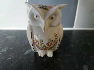£15 • Buy Aynsley Cottage Garden Owl. Perfect Condition.just Used In Display Cabinet.