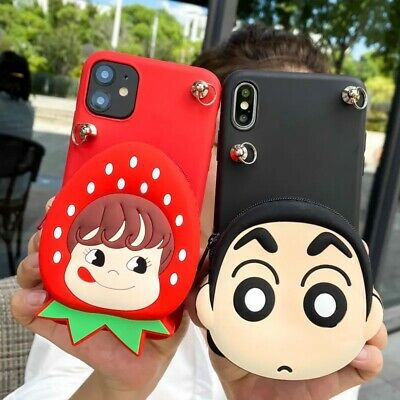 $14.99 • Buy New Strawberry Girl Candy Boy Soft Case Cover For Samsung Bag Wallet Purse Pouch