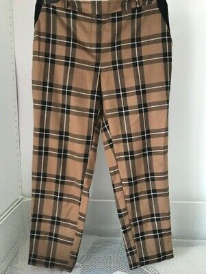 £0.99 • Buy River Island Checked Trousers Size 14