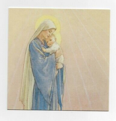 £1.99 • Buy Margaret Tarrant A Madonna And Child Medici  Christmas Greeting  Card