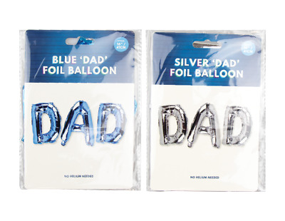 £5.99 • Buy Fathers Day Gifts Present Dad Badge Foil Balloons Best Dad Moustache Photo Frame