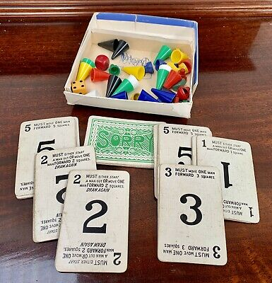 £2.50 • Buy Vintage John Waddingtons Sorry Game Cards And Counters