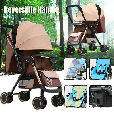 AU89.99 • Buy Foldable Infant Baby Stroller Pram Compact Lightweight Buggy Travel Carry On