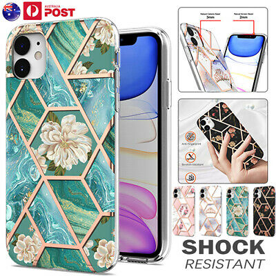 AU12.99 • Buy For IPhone 12 Mini 11 Pro Max XR XS X 8/7 SE 2020 Case Marble Shockproof Cover