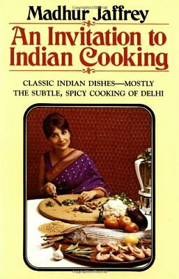 £16.51 • Buy An Invitation To Indian Cooking By Jaffrey, Madhur Book The Cheap Fast Free Post