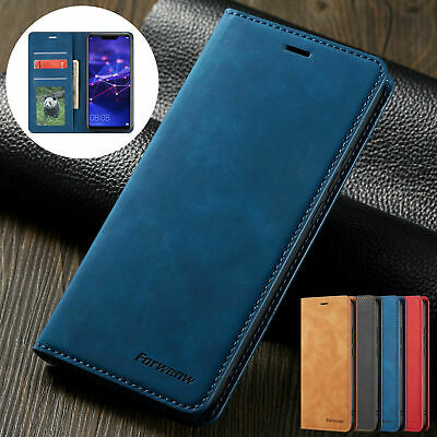 £5.99 • Buy Luxury Leather Case For Huawei P30 Pro P30 Lite P20 Flip Wallet Stand Card Cover