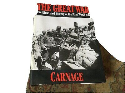 £18 • Buy The Great War: 4: Carnage By Trident Press(Hardback)