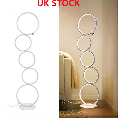 £56.49 • Buy Metal Floor Lamp Dimmable LED Corner Standard Light With Touch Switch 110cm Tall