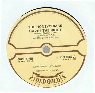 £2 • Buy The Honeycombs - Have I The Right/that's The Way 7  Vinyl