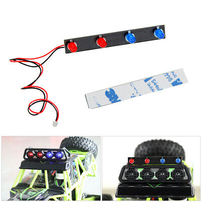 $ CDN16.03 • Buy For WLtoys 12428 1:12 Scale Racing RC Car Parts RC LEDs Roof Lamp DIY Headlights