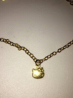 £3 • Buy Gold Hello Kitty Necklace