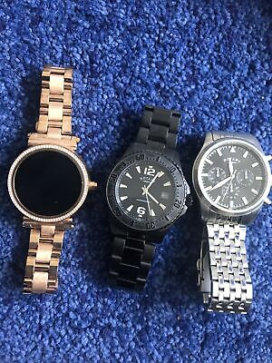£14.50 • Buy Rotary Watches Plus Micheal Korrs Smatch Watch For Spares Or Repairs