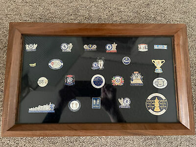 £55 • Buy Chelsea Fc Pin Badge Collection In Display Frame