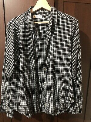£6 • Buy Hollister Checked Shirt Size M Black And White Womens