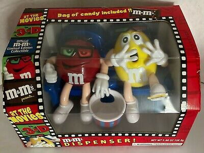 $26.99 • Buy M&M's In 3-D At The Movies Candy Dispenser