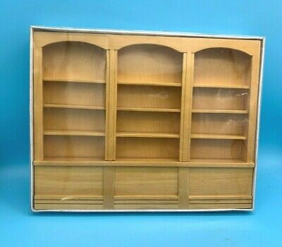 £3.99 • Buy DOLLS' HOUSE MINIATURE - LARGE WALL DISPLAY UNIT - 12th SCALE - Boxed