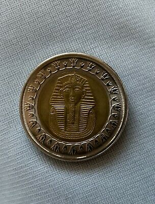 £9 • Buy Ancient Egyptian One Coin King TUT Uncirculated Egypt Pound 2018