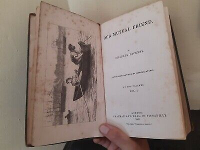 £7.50 • Buy Charles Dickens - Our Mutual Friend * FIRST EDITION - LONDON 1865 *