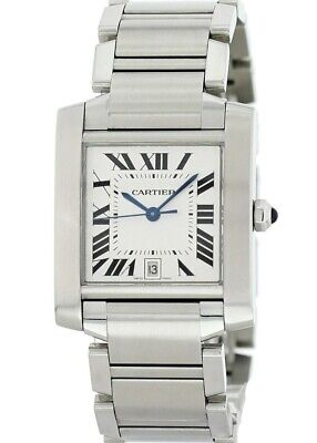 $2650 • Buy Cartier Tank Francaise Automatic 2302
