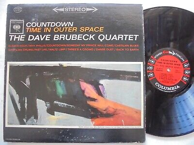 £3.53 • Buy THE DAVE BRUBECK QUARTET Countdown Time In Space COLUMBIA CS 8575 Jazz LP HEAR