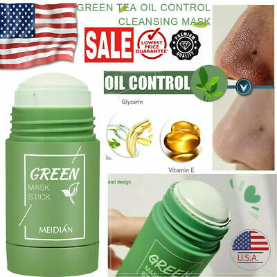 $8.88 • Buy Green Tea Purifying Clay Stick Mask Anti-Acne Deep Cleansing Oil Control Beauty