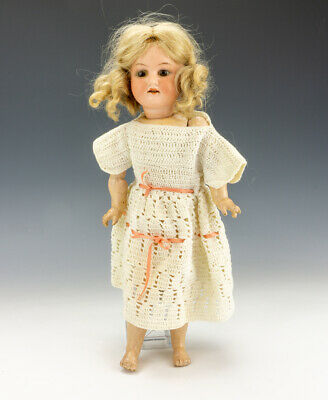 £12 • Buy Antique Armand Marseille 390 Bisque Headed Doll - With Jointed Body & Glass Eyes
