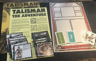 £29.99 • Buy Talisman The Adventure - 2nd Edition -  No Box - Games Workshop Board Game