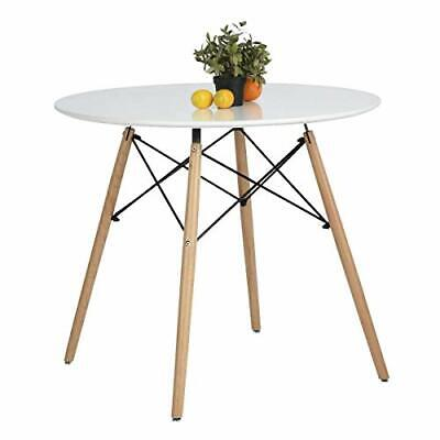 AU178.93 • Buy Dining Table Round Coffee Table Modern Leisure Wooden Tea Kitchen Table