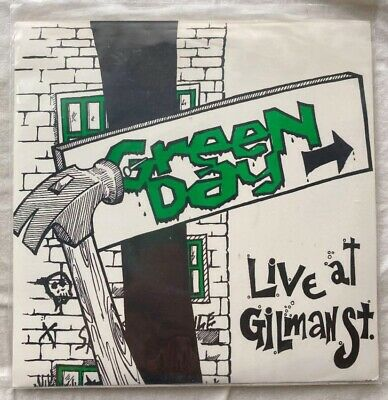 """£64.72 • Buy GREEN DAY - Live At Gilman St. 7"""" Vinyl Record LIVE Recorded Long View And More"""