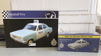 £15 • Buy Atlas British Police Cars Vauxhall Viva, Cheshire Police 1:43 Scale With Booklet