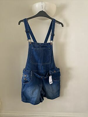 £15 • Buy Bnwt Girls Next Dungarees Shorts Age 13 Rrp £26 With Belt Purse