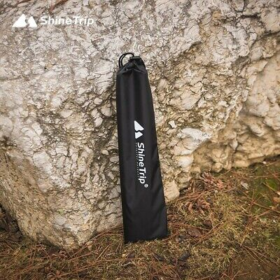 AU5.90 • Buy Case Tent Pole Bag Trekking Black Camping Hiking Outdoor Pull Cord Storage