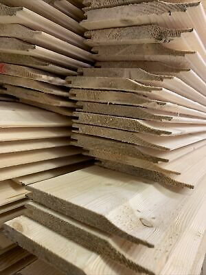 £3 • Buy Shiplap Tongue & Groove Boards Cladding 120mm X 12mm X 2.7mtrs(9ft)