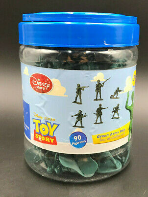 £17.66 • Buy Toy Story 1 GREEN ARMY MEN BUCKET O SOLDIERS Disney Store 77/90 PIECES Pixar