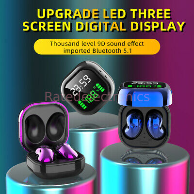 $ CDN19.55 • Buy New 2021 Bluetooth 5.1 Wireless Earbuds Headset IPhone Samsung Android Earphone