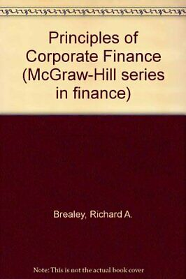 £9.99 • Buy Principles Of Corporate Finance (McGraw-Hill Series In F... By Myers, Stewart C.