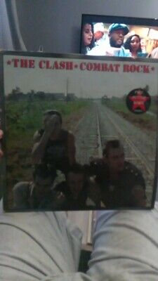 £4.10 • Buy The Clash Combat Rock Vinyl With Rare Poster
