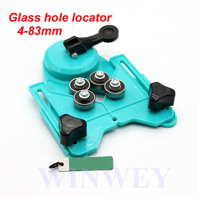 £12.91 • Buy Adjustable Ceramic Tile Glass Hole Saw Cutter Guide Openings Locator 4-83mm UK