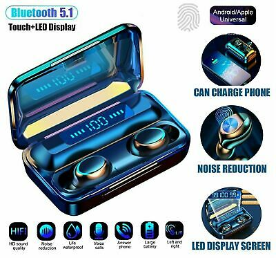 $ CDN20.10 • Buy Bluetooth Earbuds For IPhone Samsung Android Wireless Earphone IPX7 Waterproof