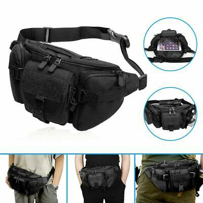 $10.89 • Buy Tactical Waist Belt Bag Fanny Pouch Outdoor Bags Military Camping Hiking Pack