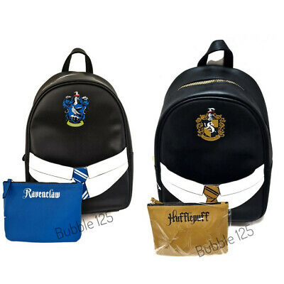 £25.99 • Buy Harry Potter Ravenclaw/Hufflepuff  Backpack With Removable Pouch