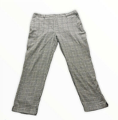 £0.99 • Buy Womens Checked Trousers Size 14 Dorothy Perkins
