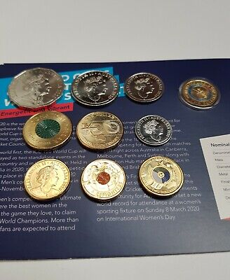 AU35 • Buy 2020 5c-$2 Coin Set Of 10 UNC Coins Firefighters WWII Qantas Donation Womens T20