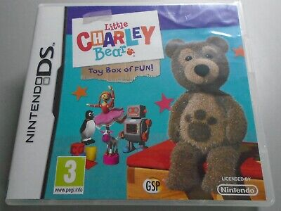£6.95 • Buy Little Charley Bear Toy Box Of Fun  Nintendo DS Lite Charlie Childrens Games